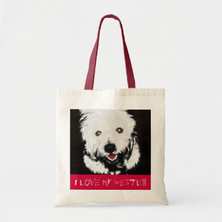 Bag with Westie Terrier