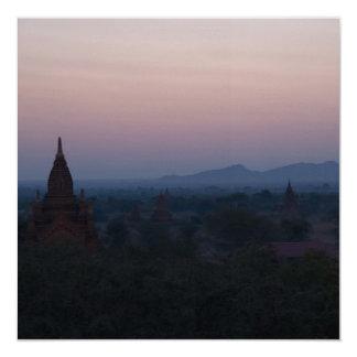 Bagan Dawn Card / Invitation