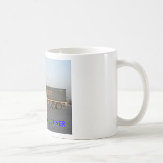 BAGDAD, IRAQ CONVOY MAIL DRIVER BASIC WHITE MUG