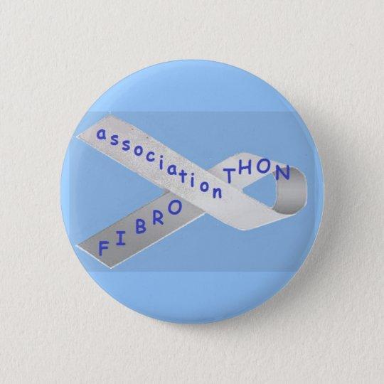bagde blue 6 cm round badge