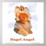 Bagel Angel Posters