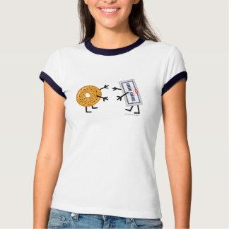 Bagel & Cream Cheese - Customizable T Shirts
