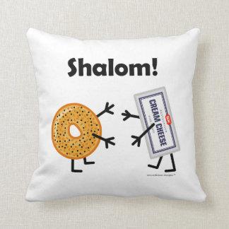 Bagel & Cream Cheese - Shalom! Cushion