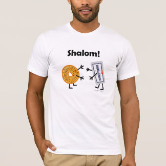 Bagel & Cream Cheese - Shalom! T-Shirt