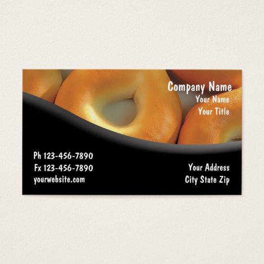 Bagel Shop Business Cards