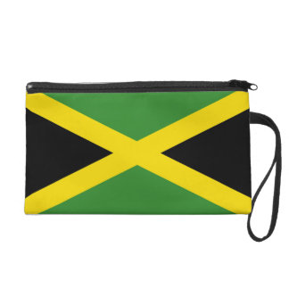 Bagettes Bag with Flag of Jamaica