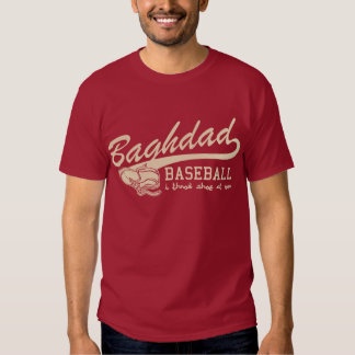 baghdad baseball - i throw shoe at you shirt