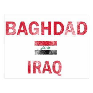 Baghdad Iraq Designs Postcard
