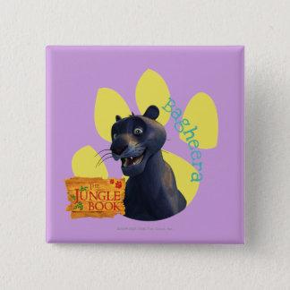 Bagheera 1 15 cm square badge