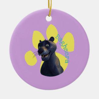 Bagheera 1 christmas ornament