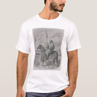 Baghirmi trooper in quilted armour T-Shirt