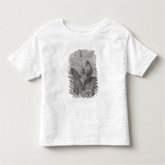 Baghirmi trooper in quilted armour toddler T-Shirt