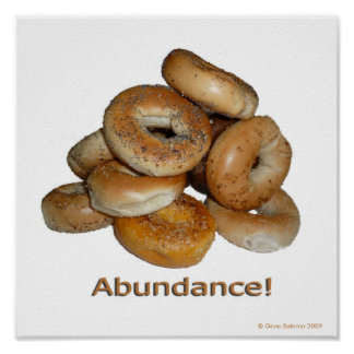 Bagle Abundance Print