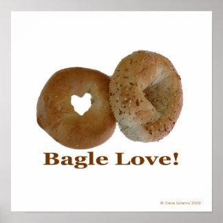Bagle Love Poster