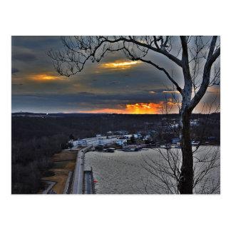 Bagnell Dam Missouri postcard
