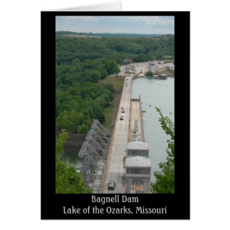 Bagnell Dam (Title) Stationery Note Card