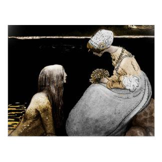 Bagneta and the Sea King Postcard