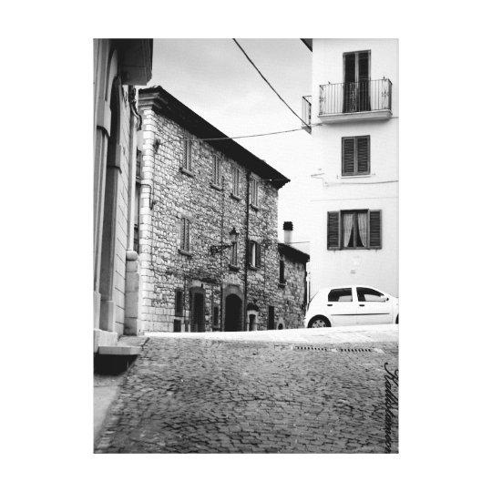 Bagnoli del Trigno - Molise -2 Canvas Print