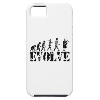 Bagpipe Pipers Bagpiper Musical Evolution Art iPhone 5 Cover