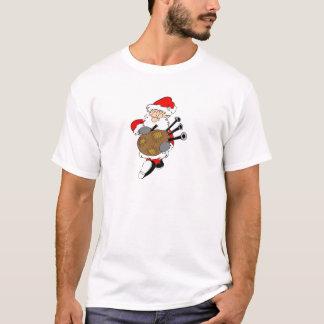 Bagpipe Santa T-Shirt