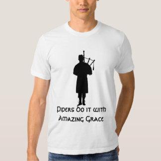 Bagpiper Humor Tshirts