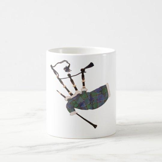 bagpipes by highsaltire coffee mug