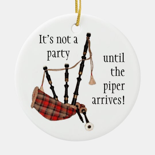 BAGPIPES Christmas ornament