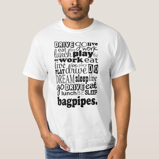 Bagpipes Gift T-Shirt