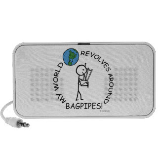 Bagpipes - World Revolves Around Mp3 Speakers