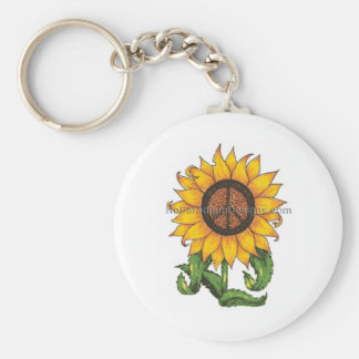 Bags and Purses Basic Round Button Key Ring