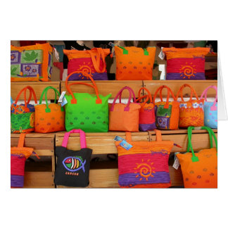 Bags of Cancun note card