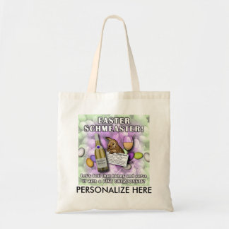 BAGS, TOTES - EASTER SCHMEASTER BUDGET TOTE BAG