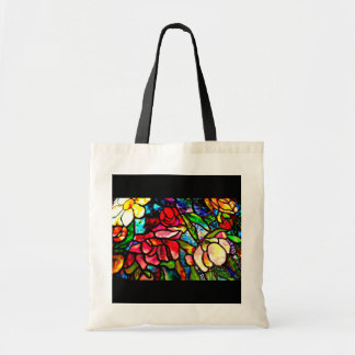 Bags-Vintage Stained Glass-Louis TIffany 35 Tote Bag
