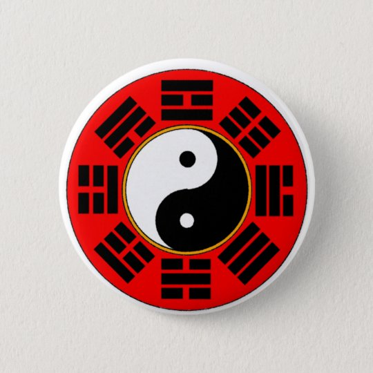 Bagua trigram button