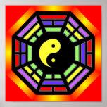 Bagua Yin Yang Art Poster