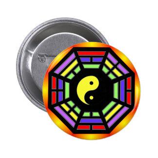 Bagua Yin Yang Gifts 6 Cm Round Badge