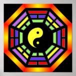 Bagua Yin Yang Poster