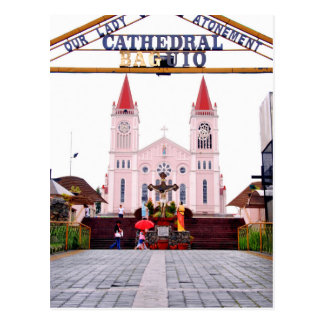 Baguio Cathedral Postcard