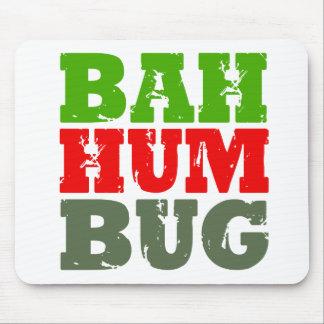 BAH HUM BUG - png Mouse Pad