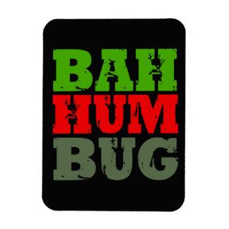 BAH HUM BUG RECTANGLE MAGNETS