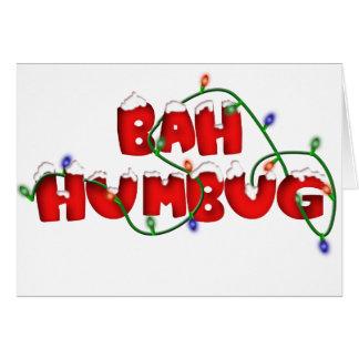 bah humbug!!!! card
