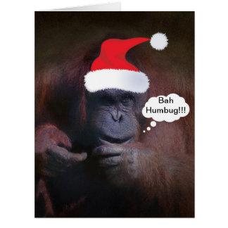 BAH HUMBUG!!! CHRISTMAS CARD