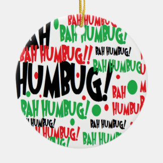 Bah Humbug Christmas Ornament