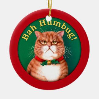 Bah Humbug Christmas Ornament