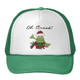 Bah Humbug Frog Christmas Tshirts and Gifts Cap