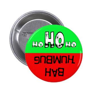 Bah humbug/Ho ho ho button