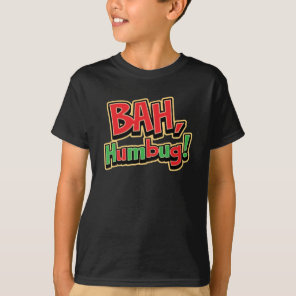 Bah Humbug Kids Dark T-Shirt