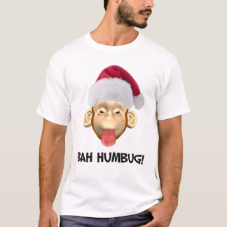 Bah Humbug Monkey t-shirt