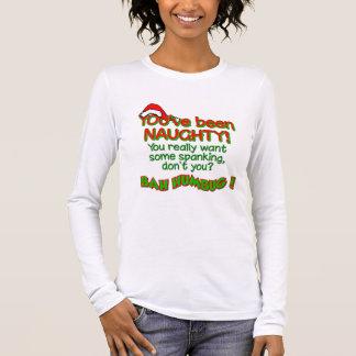 BAH HUMBUG Naughty shirt