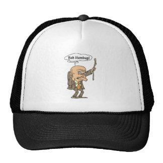Bah Humbug Old Man Cap